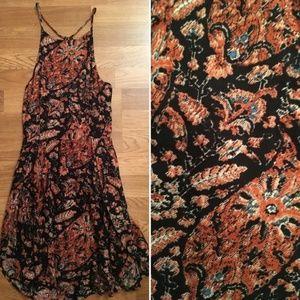 Abercrombie & Fitch Black & Orange Sundress